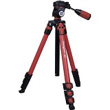 FOTOPRO Camera Tripod [S3] - Red (Merchant) - Tripod Combo With Head